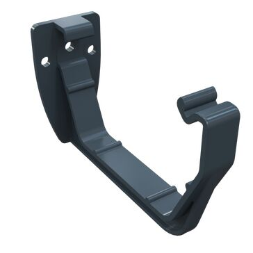 Freeflow 112mm Half Round Fascia Bracket - Anthracite Grey