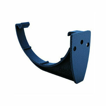 Freeflow 112mm Half Round Fascia Bracket - Cast Iron Black