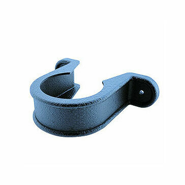 Freeflow 68mm Round Pipe Clip Cast Iron Black