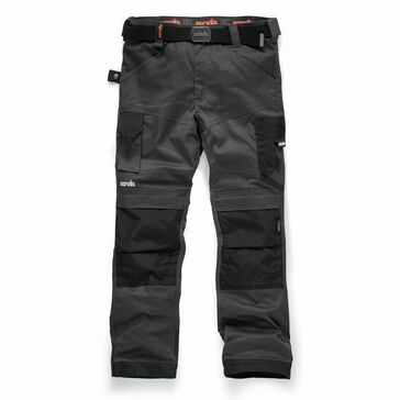 Scruffs Pro Flex Trousers - Graphite (Short)