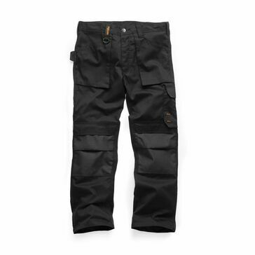 Scruffs Worker Trousers 2019 - Black (Short)
