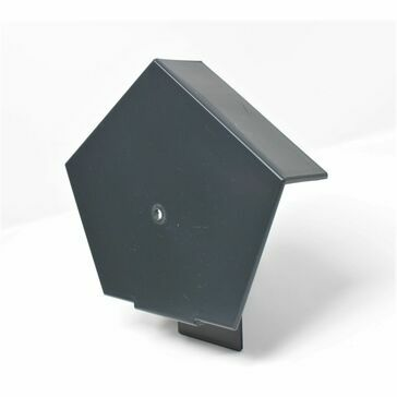 European Plastics Type D Ridge End Cap
