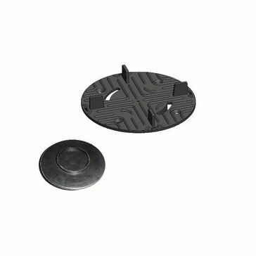 Carosystems Caro Pedestal Support Plate For Paving To Suit Rc10/Rc4 Bag Of 50