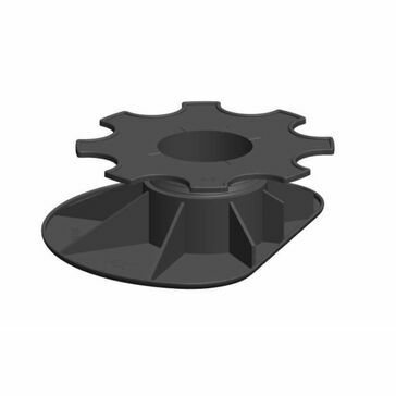 Carosystems Caro Pedestal Adjustable Base For Edges To Suit Heights: 52-84mm Bag Of 50