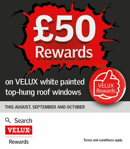 White Painted Top Hung Velux Offer