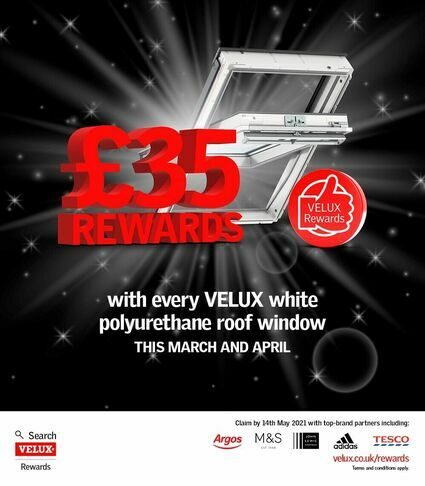 Velux Rewards March April 2021