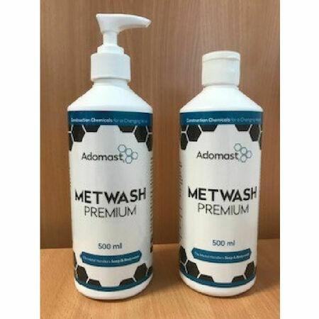 Adomast Metwash Premium Pump Lotion Top 500ml Box Of