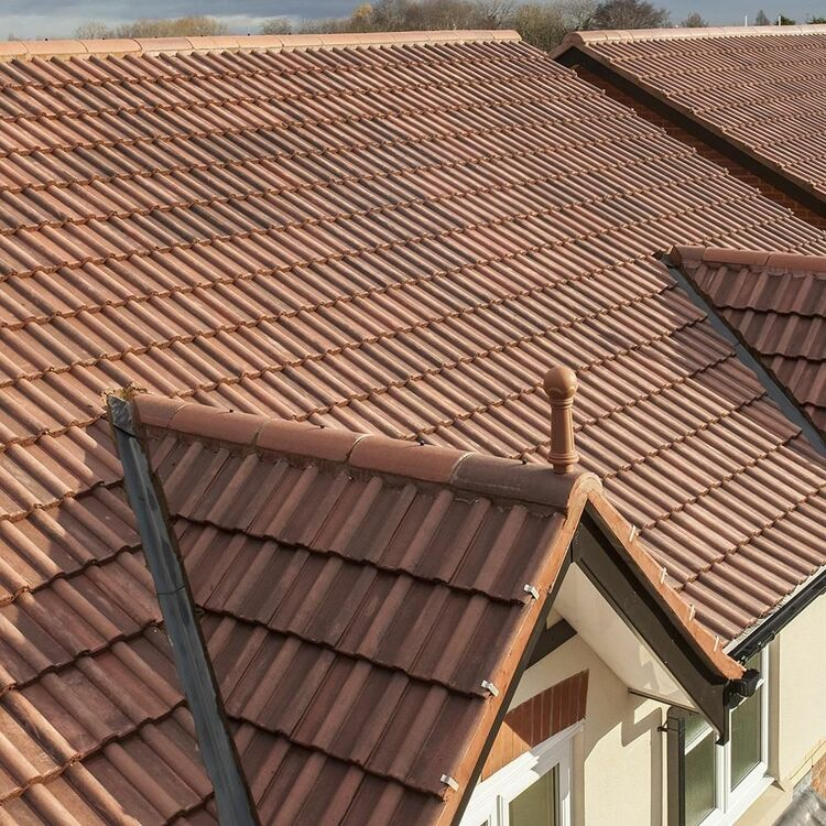 Marley Double Roman Interlocking Roofing Tile Pack Of 32