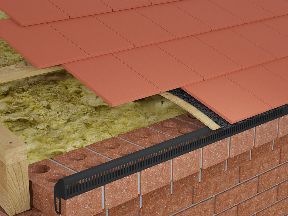 Marley Clay In Line Tile Vent Only 78 41