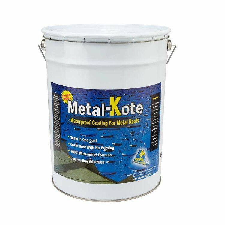 Acrypol Metal Kote Waterproof Roof Coating 20 Litre Only