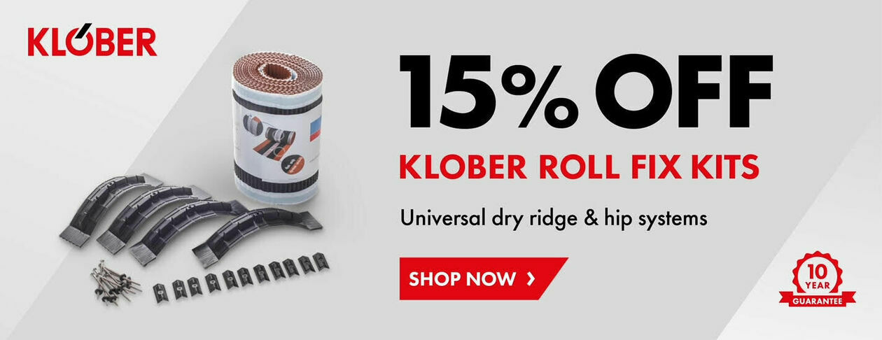 15% Off Klober Roll Fix