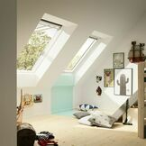 Velux White Painted Top Hung Roof Window 66 Pane - GPL 2066 additional 6