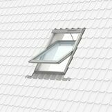 Velux Polyurethane Centre Pivot Integra Electric with Pre-Fitted Rain Sensor Roof Window - GGU 006621U additional 10