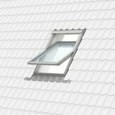 Velux White Painted Double Glazed Centre Pivot 70Q Pane Roof Window - GGL 2070Q additional 14