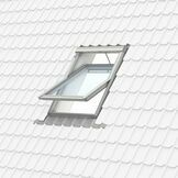 Velux White Painted 15 Degree Centre Pivot Integra Electric Roof Window - GGL 207021U additional 13