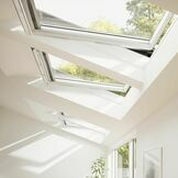 Velux White Painted 15 Degree Centre Pivot Integra Electric Roof Window - GGL 207021U additional 6
