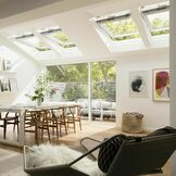 Velux White Painted 15 Degree Centre Pivot Integra Electric Roof Window - GGL 207021U additional 7