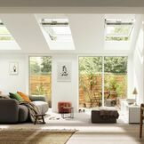 Velux White Painted 15 Degree Centre Pivot Integra Electric Roof Window - GGL 207021U additional 8