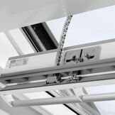 Velux White Painted 15 Degree Centre Pivot Integra Electric Roof Window - GGL 207021U additional 10