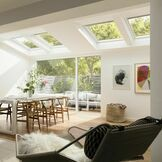 Velux White Painted Centre Pivot Integra Electric Roof Window - GGL 206621U additional 2