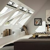 Velux White Painted Centre Pivot Integra Electric Roof Window - GGL 206621U additional 11