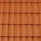 Marley Maxima Double Roman Clay Roof Tile - Band of 4 additional 2