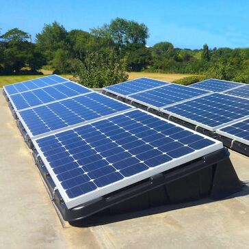 Flat Roofing Solar