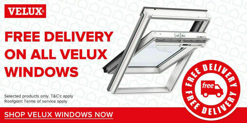 FREE DELIVERY on all VELUX Windows!