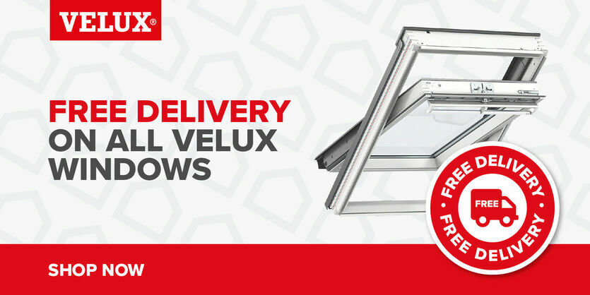 Free delivery on all VELUX windows