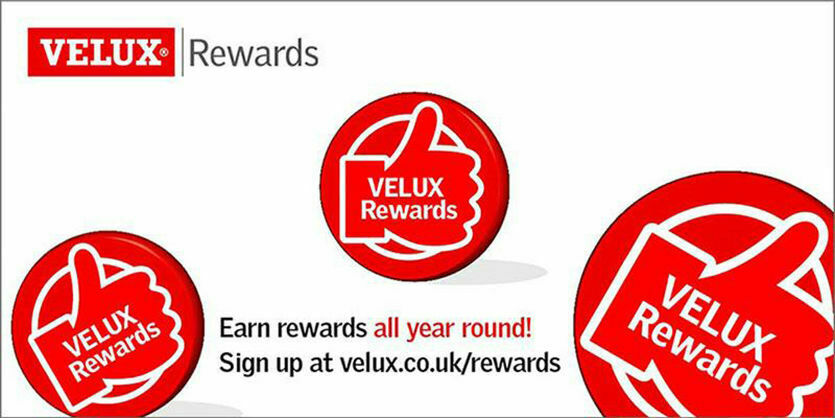 Kickstart your roofing project and earn VELUX rewards all year round!