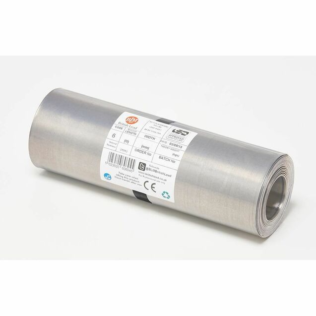 BLM Code 6 Lead Flashing Roll - 3m