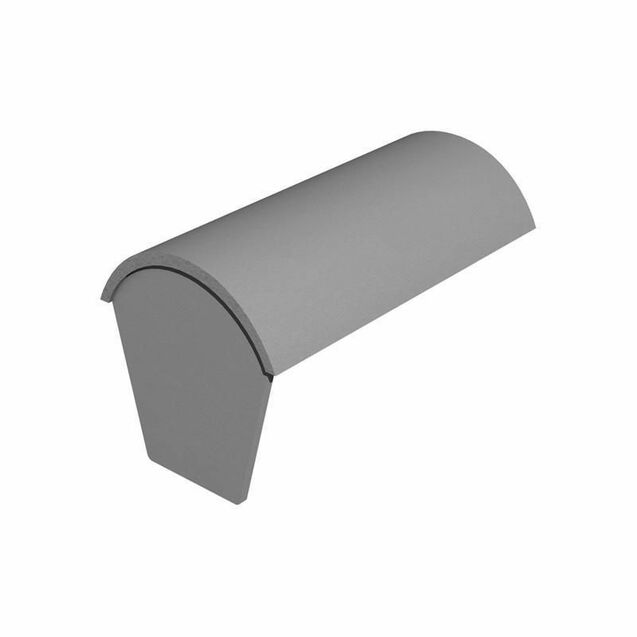Marley Concrete 457mm Segmental Stop End Ridge