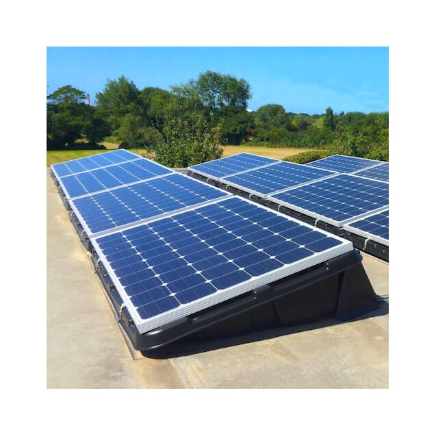 Plug In Solar 4kw 4000w Diy Solar Power Kit With Renusol Console Tubs For Ground Or Flat Roof