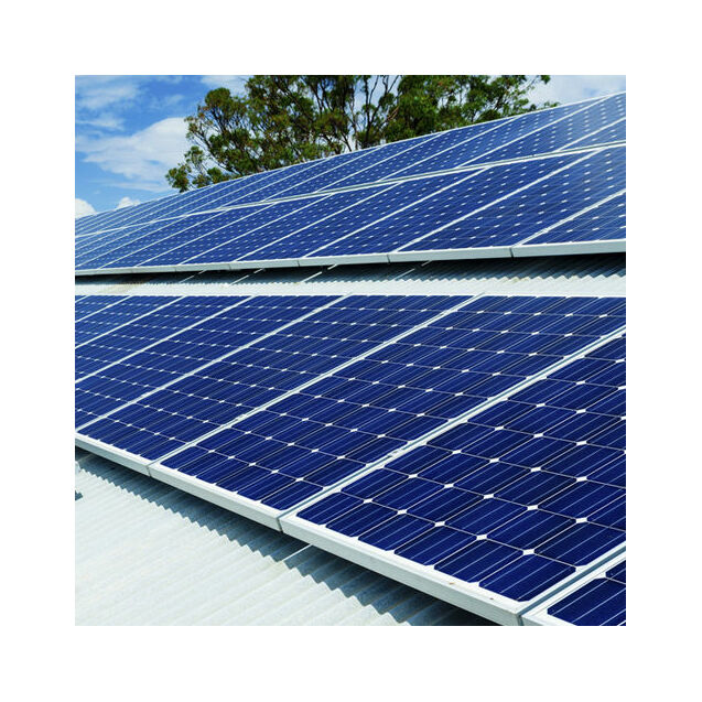 Plug In Solar 1kw 1000w Diy Solar Power Kit With Roof Mount For Metal Sheet Roofs