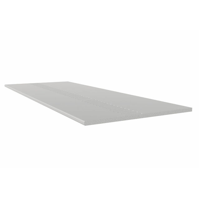 Freefoam 250mm Pre Vented GPB solid soffit board - White 5m