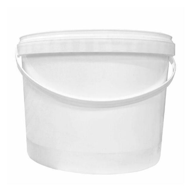 Cromar White Plastic Mixing Tub - 10 litres (no lids required)