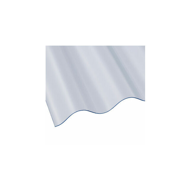 Vistalux Pvc Heavy Duty Corrugated Roof Sheet Profile 3 2440mm X 762mm X 1 1mm Only 9 30