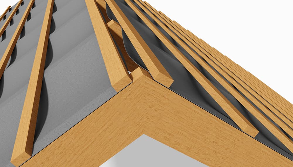 Ridge Detail - Ventilated